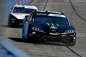 Riley Herbst, Joe Gibbs Racing, Toyota Supra Monster, Austin Cindric, Team Penske, Ford Mustang Odyssey Battery
