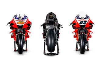 Bikes of Jack Miller, Pramac Racing, Francesco Bagnaia, Pramac Racing