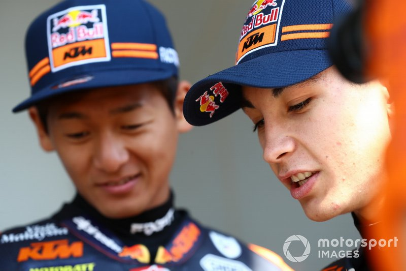Raul Raul Fernandez, Kato Kaito Toba, Red Bull KTM Ajo