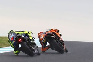 Pol Espargaro, Red Bull KTM Factory Racing, Valentino Rossi, Yamaha Factory Racing