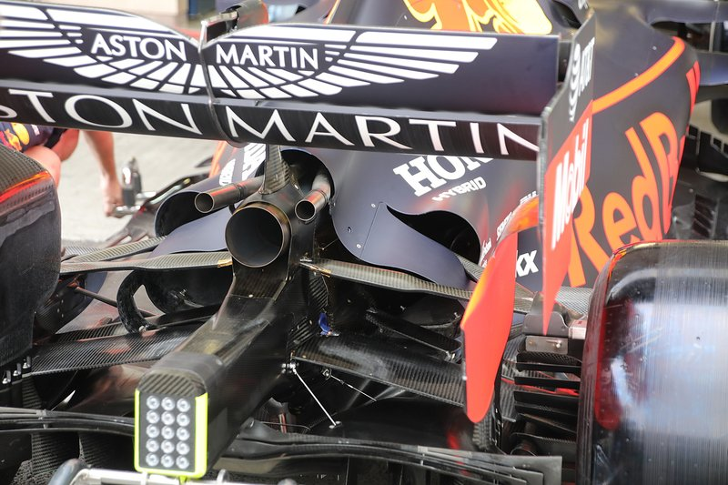 Trasera del Red Bull Racing RB15