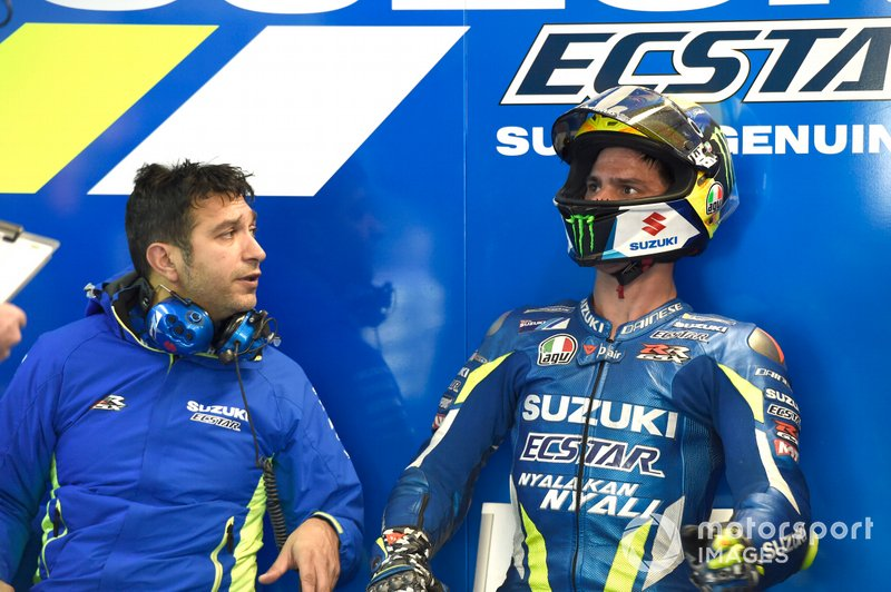 Francesco Carchedi - Joan Mir, Team Suzuki MotoGP