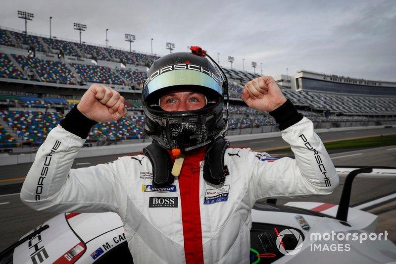 Pole Award winner #911 Porsche GT Team Porsche 911 RSR - 19, GTLM: Nick Tandy