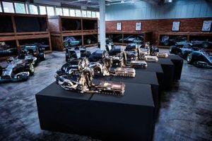 Mercedes Brixworth engine factory