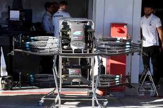 Front wing of Mercedes AMG F1 W10