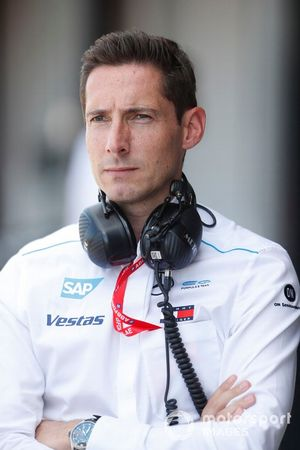 Ian James, Team Principal, Mercedes Benz EQ