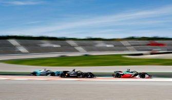 Lucas Di Grassi, Audi Sport ABT Schaeffler, Audi e-tron FE06, Oliver Rowland, Nissan e.Dams, Nissan IMO2, Mitch Evans, Panasonic Jaguar Racing, Jaguar I-Type 4