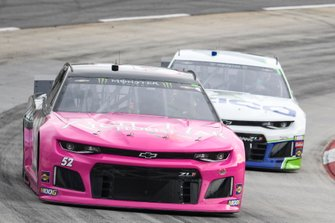 Garrett Smithley, Rick Ware Racing, Chevrolet Camaro RICH MAR FLORIST, Ty Dillon, Germain Racing, Chevrolet Camaro GEICO