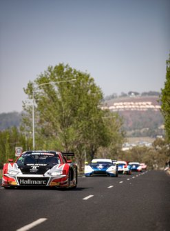 #9 Hallmarc Audi R8 - LMS GT3: Marc Cini, Dean Fiore, Lee Holdsworth