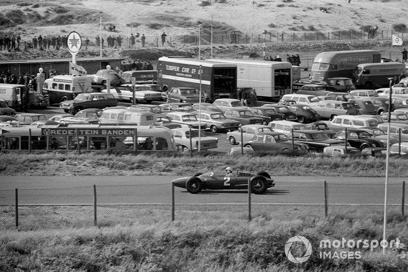 Zandvoort 1963: John Surtees in de Ferrari