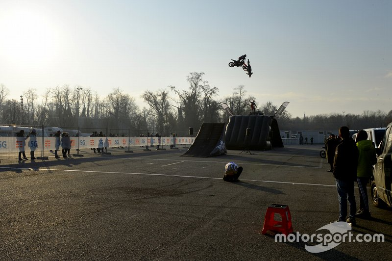 Freestyle en el Monza Rally Show
