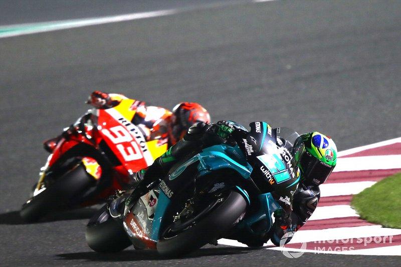 Franco Morbidelli, Petronas Yamaha SRT, Marc Marquez, Repsol Honda Team