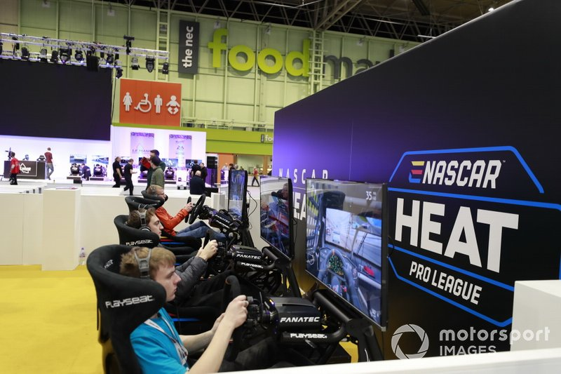 Motorsport Games stand