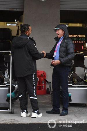 Lewis Hamilton, Mercedes AMG F1 with Jo Ramírez, F1 Veteran