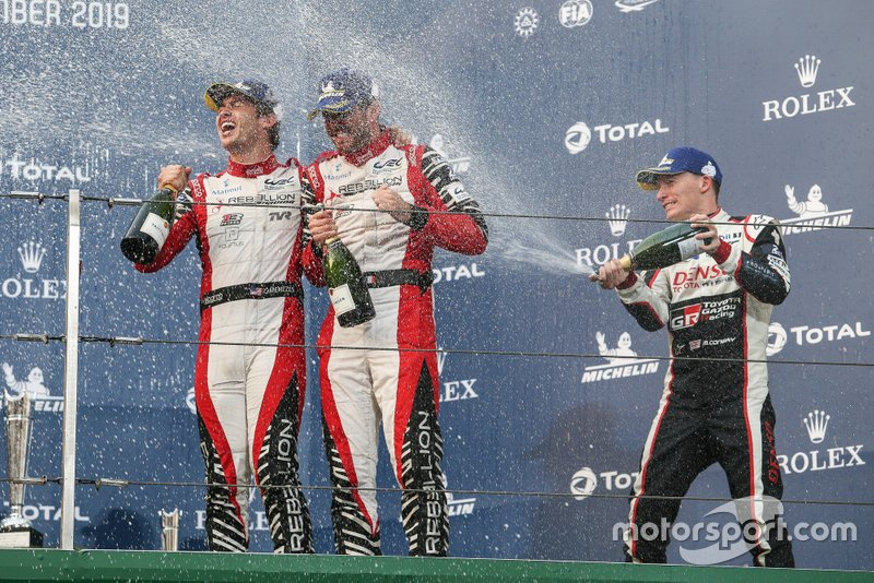Gustavo Menezes, Norman Nato, Mike Conway