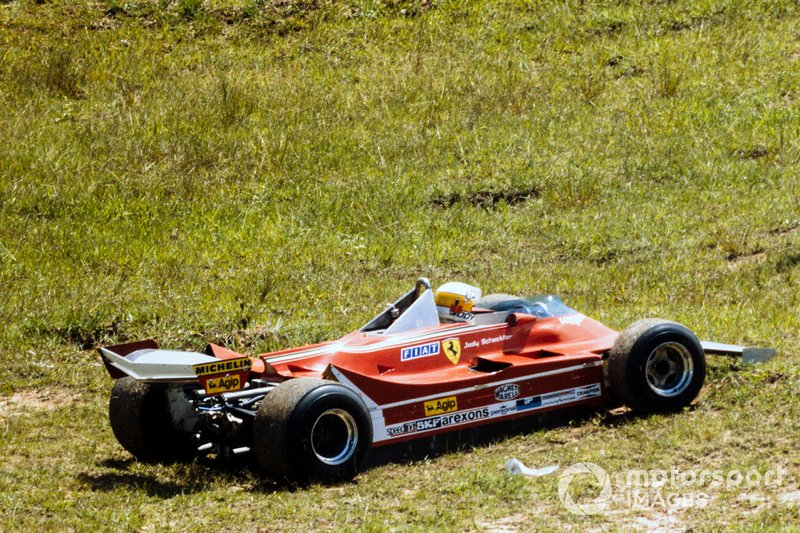 Jody Scheckter, Ferrari