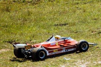 Джоди Шектер, Ferrari, сход