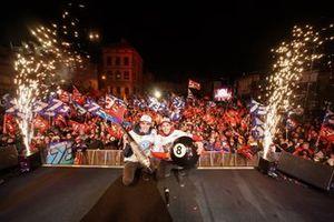 Alex Marquez, Moto2-Weltmeister 2019, und Marc Marquez, MotoGP-Weltmeister 2019