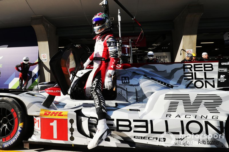 #1 Rebellion Racing Rebellion R13 - Gibson: Gustavo Menezes