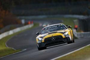 #155 BLACK FALCON KNUFFI Mercedes-AMG GT4: Marek Böckmann, Axel König, Tobias Wahl