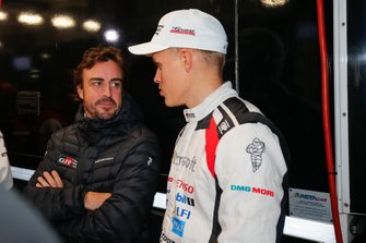 Fernando Alonso, Ott Tänak, Toyota Gazoo Racing