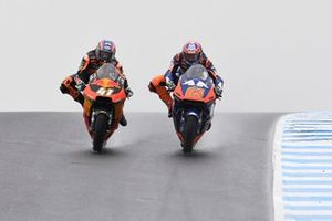 Philipp Öttl, Tech 3, Brad Binder, KTM Ajo