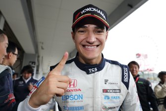Pole sitter Alex Palou, Nakajima Racing