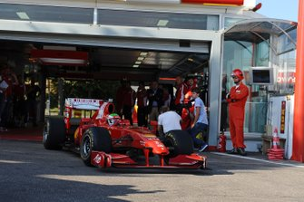 Sergio Perez, Ferrari F60, ai test Ferrari di Fiorano del 2011