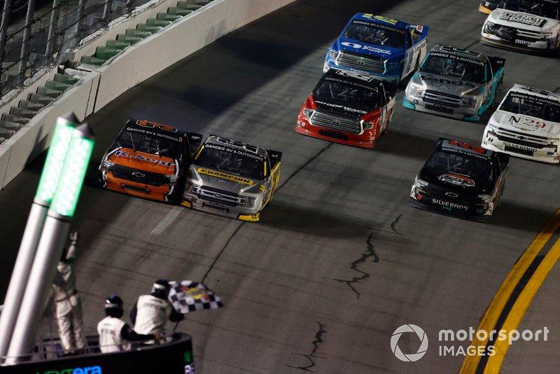 2. Grant Enfinger and Jordan Anderson - Trucks Daytona - 0.010s