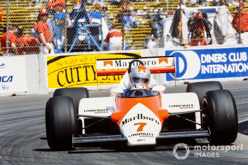 10. John Watson, McLaren: del 21º al 3º en el GP de EE UU Este 1983