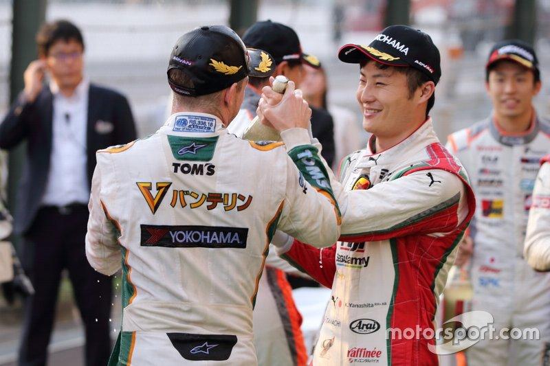 Ник Кэссиди, Vantelin Team TOM'S, и Кента Ямасита, Kondō Racing