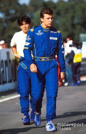 Гонщики Prost Оливье Панис и Синдзи Накано