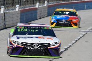 Denny Hamlin, Joe Gibbs Racing, Toyota Camry FedEx Office, Kyle Busch, Joe Gibbs Racing, Toyota Camry M&M's