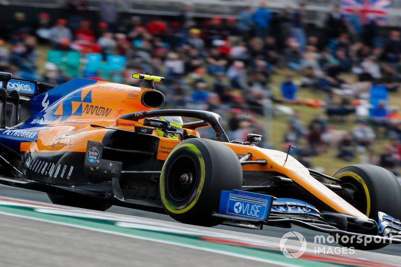 8.- Lando Norris, McLaren MCL34, 1m33.175s