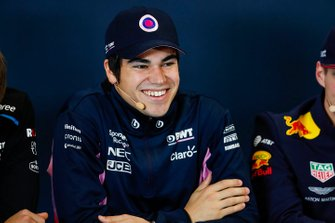 Press conference, Lance Stroll, Racing Point
