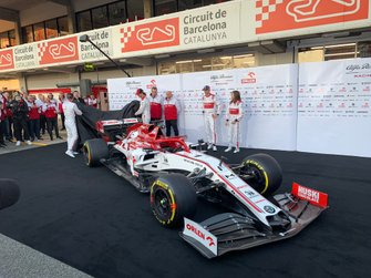 Antonio Giovinazzi, Alfa Romeo, Kimi Raikkonen, Alfa Romeo