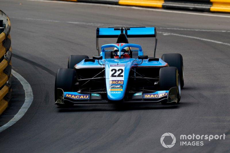 #22 Arjun Maini, Jenzer Motorsport