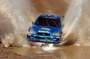 Mikko Hirvonen, Jarmo Lehtinen Subaru Impreza