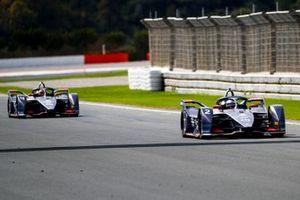 Sam Bird, Envision Virgin Racing, Audi e-tron FE06 Robin Frijns, Envision Virgin Racing, Audi e-tron FE06