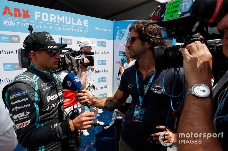 Mitch Evans, Panasonic Jaguar Racing parla ai media