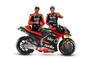 Andrea Iannone, Aleix Espargaro, Aprilia Racing Team Gresini