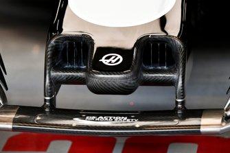 Dettaglio del muso della Haas F1 Team VF-20