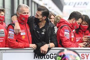Paolo Ciabatti und Ruben Xaus