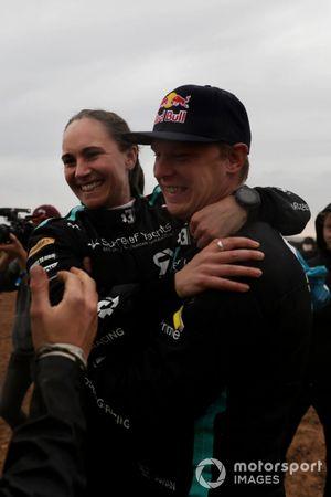 Molly Taylor, Rosberg X Racing, y Johan Kristoffersson, Rosberg X Racing, 1ª posición