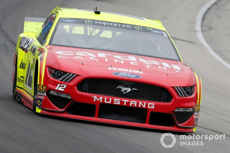 Ryan Blaney, Team Penske, Ford Mustang Menards/Cardell Cabinetry
