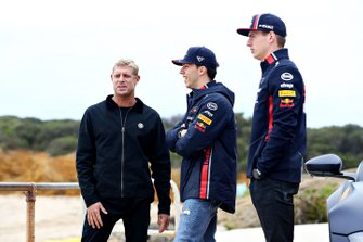 Max Verstappen, Red Bull Racing et Pierre Gasly, Red Bull Racing