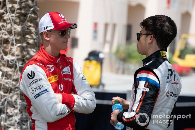 Mick Schumacher, PREMA RACING Nyck De Vries, ART GRAND PRIX