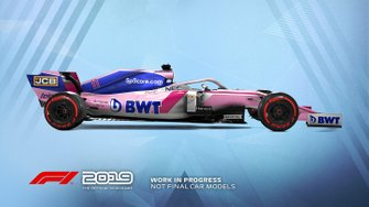 F1 2019 Racing Point livery
