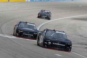 Jeff Green, RSS Racing, Chevrolet Camaro RSS Racing and Morgan Shepherd, Shepherd Racing Ventures, Chevrolet Camaro