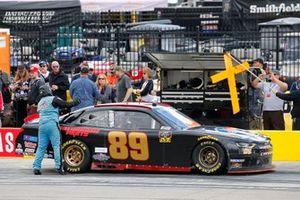 Morgan Shepherd, Shepherd Racing Ventures, Chevrolet Camaro pit stop